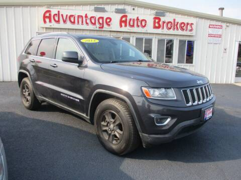 2014 Jeep Grand Cherokee for sale at Advantage Auto Brokers Inc in Greeley CO