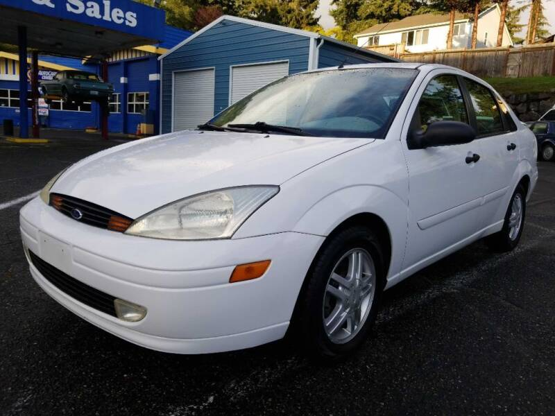 2000 Ford Focus for sale at Shoreline Family Auto Care And Sales in Shoreline WA