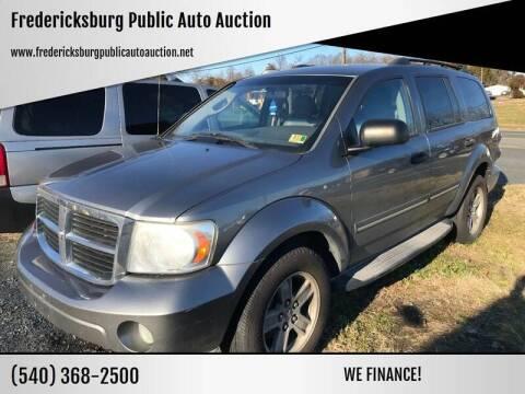 2007 Dodge Durango for sale at FPAA in Fredericksburg VA