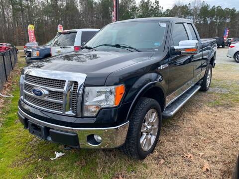 2011 Ford F-150 for sale at Premier Auto Solutions & Sales in Quinton VA
