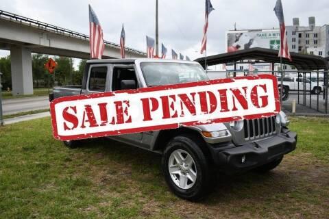 2020 Jeep Gladiator for sale at STS Automotive - Miami, FL in Miami FL