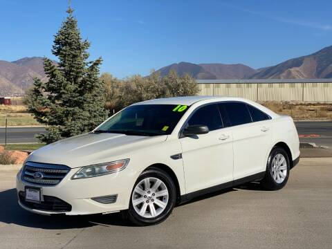 2010 Ford Taurus for sale at Evolution Auto Sales LLC in Springville UT