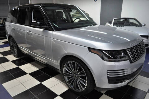 2018 Land Rover Range Rover for sale at Podium Auto Sales Inc in Pompano Beach FL