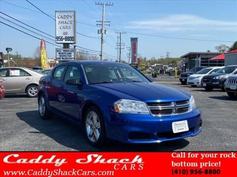 2013 Dodge Avenger for sale at CADDY SHACK CARS in Edgewater MD