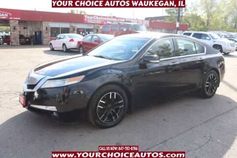 2009 Acura TL for sale at Your Choice Autos - Waukegan in Waukegan IL