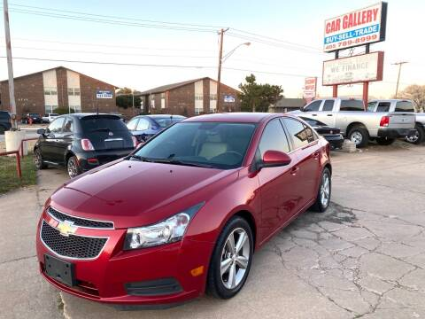 2014 Chevrolet Cruze for sale at Car Gallery in Oklahoma City OK