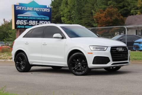 2016 Audi Q3 for sale at Skyline Motors in Louisville TN