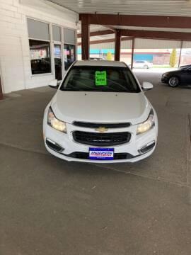 2015 Chevrolet Cruze for sale at Anderson Motors in Scottsbluff NE