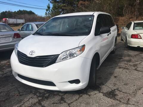 2015 Toyota Sienna for sale at Moreland Motorsports in Conley GA