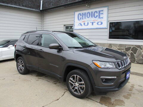 2017 Jeep Compass for sale at Choice Auto in Carroll IA