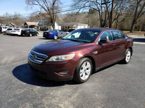 2010 Ford Taurus for sale at Curtis Lewis Motor Co in Rockmart GA