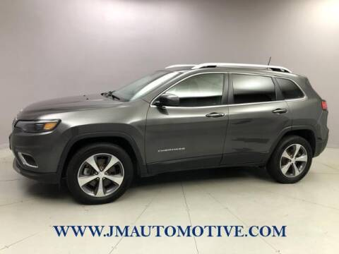2019 Jeep Cherokee for sale at J & M Automotive in Naugatuck CT