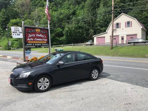 2012 Chevrolet Cruze for sale at Jerry Dudley's Auto Connection in Barre VT