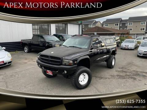 1999 Dodge Dakota for sale at Apex Motors Parkland in Tacoma WA