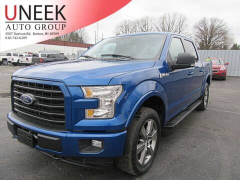 2017 Ford F-150 for sale at Uneek Auto Group LLC in Burton MI
