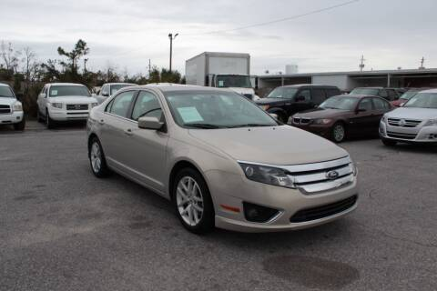 2010 Ford Fusion for sale at Jamrock Auto Sales of Panama City in Panama City FL
