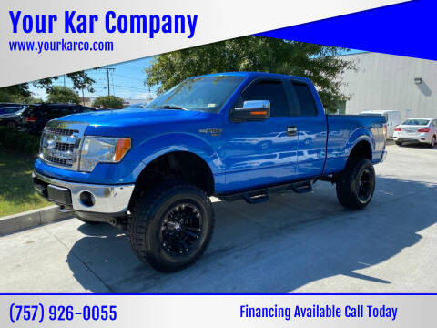2013 Ford F-150 for sale at Your Kar Company in Norfolk VA