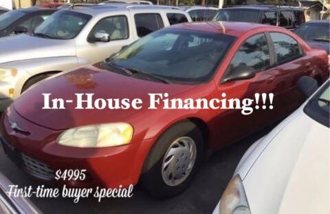 2002 Chrysler Sebring for sale at Sidney Auto Sales in Downey CA