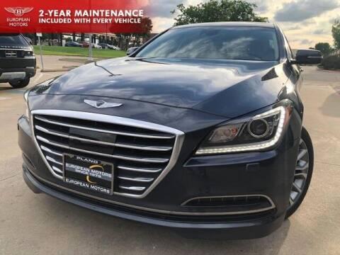 2017 Genesis G80 for sale at European Motors Inc in Plano TX