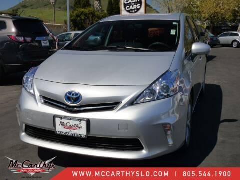 2014 Toyota Prius v for sale at McCarthy Wholesale in San Luis Obispo CA