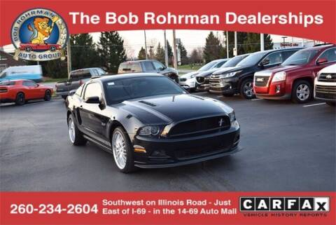 2014 Ford Mustang for sale at BOB ROHRMAN FORT WAYNE TOYOTA in Fort Wayne IN