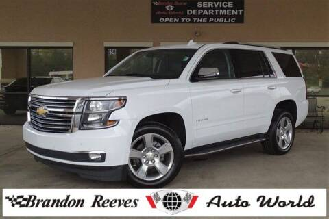 2019 Chevrolet Tahoe for sale at Brandon Reeves Auto World in Monroe NC