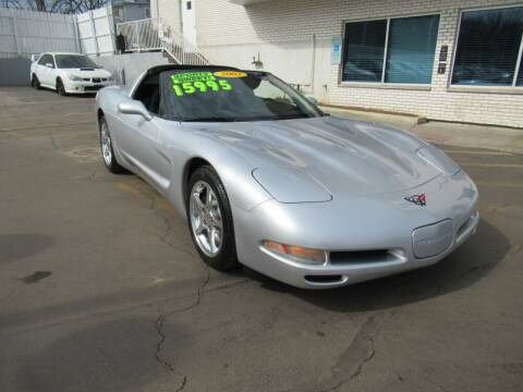2002 Chevrolet Corvette for sale at Auto Land Inc in Crest Hill IL