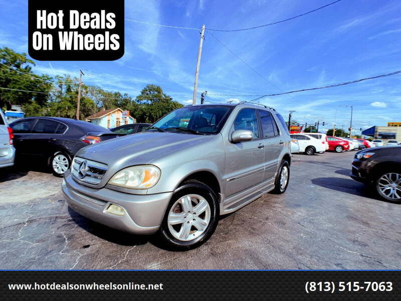 2005 Mercedes-Benz M-Class for sale at Hot Deals On Wheels in Tampa FL