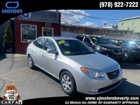 2008 Hyundai Elantra for sale at CJ Motors Inc. in Beverly MA