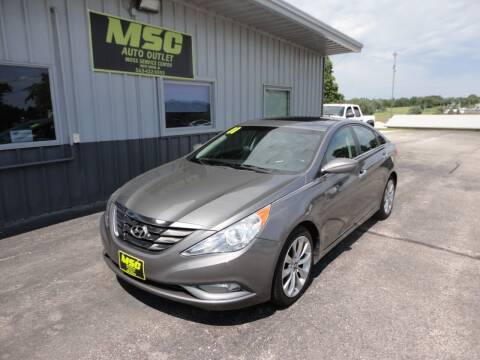 2011 Hyundai Sonata for sale at Moss Service Center-MSC Auto Outlet in West Union IA