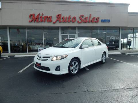 2012 Toyota Corolla for sale at Mira Auto Sales in Dayton OH