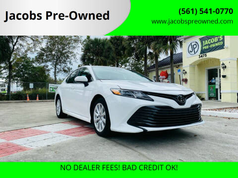 2019 Toyota Camry for sale at Jacobs Pre-Owned in Lake Worth FL