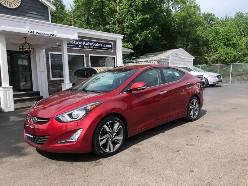 2014 Hyundai Elantra for sale at Ocean State Auto Sales in Johnston RI