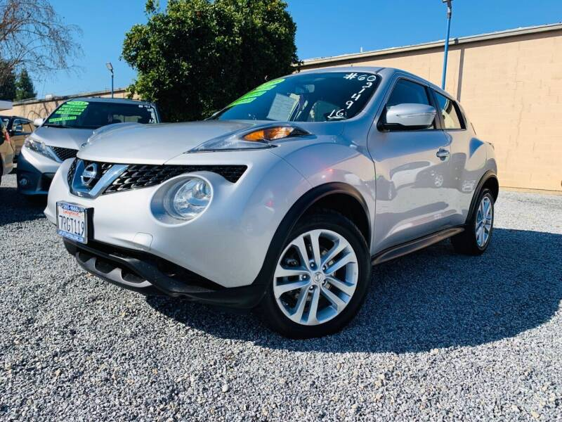 2016 Nissan JUKE for sale at 2955 FIRESTONE BLVD - Tulare Lot in Tulare CA