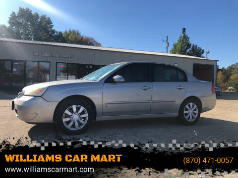 2008 Chevrolet Malibu Classic for sale at WILLIAMS CAR MART in Gassville AR