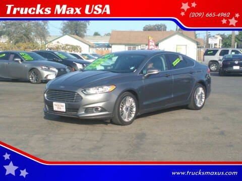 2014 Ford Fusion for sale at Trucks Max USA in Manteca CA