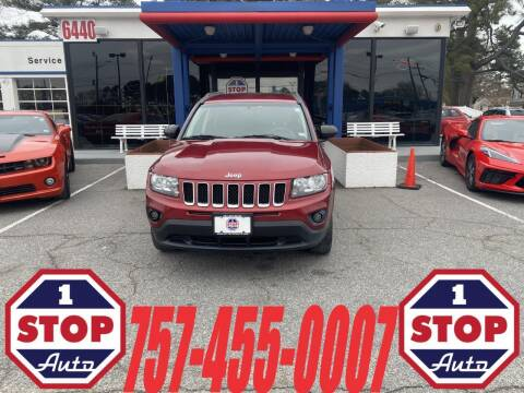 2015 Jeep Compass for sale at 1 Stop Auto in Norfolk VA