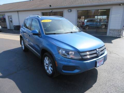 2017 Volkswagen Tiguan for sale at Tri-County Pre-Owned Superstore in Reynoldsburg OH