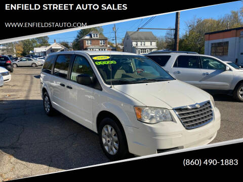 2008 Chrysler Town and Country for sale at ENFIELD STREET AUTO SALES in Enfield CT