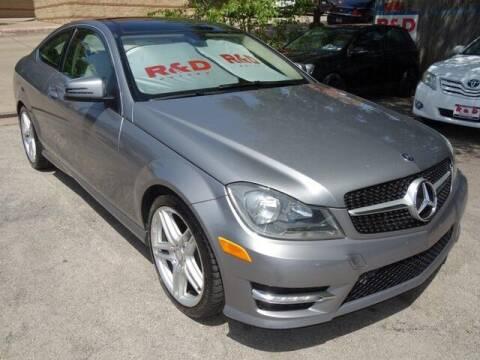 2012 Mercedes-Benz C-Class for sale at R & D Motors in Austin TX