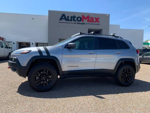 2017 Jeep Cherokee for sale at AutoMax of Memphis - V Brothers in Memphis TN