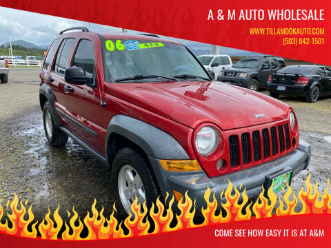 2006 Jeep Liberty for sale at A & M Auto Wholesale in Tillamook OR