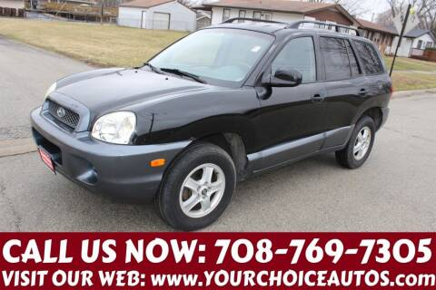 2004 Hyundai Santa Fe for sale at Your Choice Autos in Posen IL