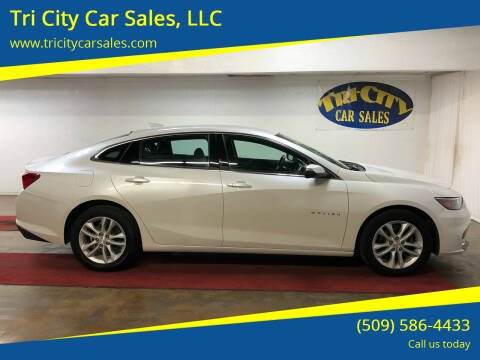 2016 Chevrolet Malibu for sale at Tri City Car Sales, LLC in Kennewick WA