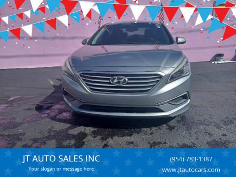 2016 Hyundai Sonata for sale at JT AUTO SALES INC in Oakland Park FL