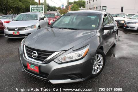 2016 Nissan Altima for sale at Virginia Auto Trader, Co. in Arlington VA