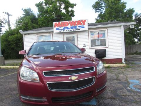 2011 Chevrolet Malibu for sale at Midway Cars LLC in Indianapolis IN