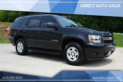 2007 Chevrolet Tahoe for sale at Direct Auto Sales in Franklin TN