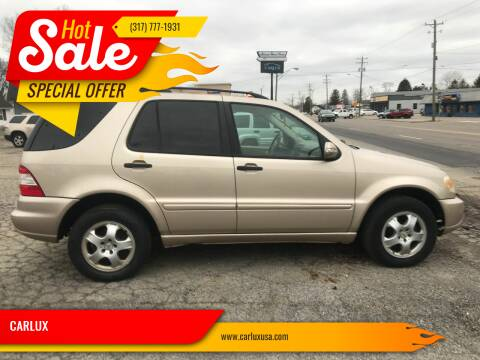 2003 Mercedes-Benz M-Class for sale at CARLUX in Fortville IN