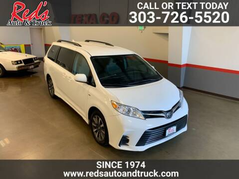 2018 Toyota Sienna for sale at Red's Auto and Truck in Longmont CO